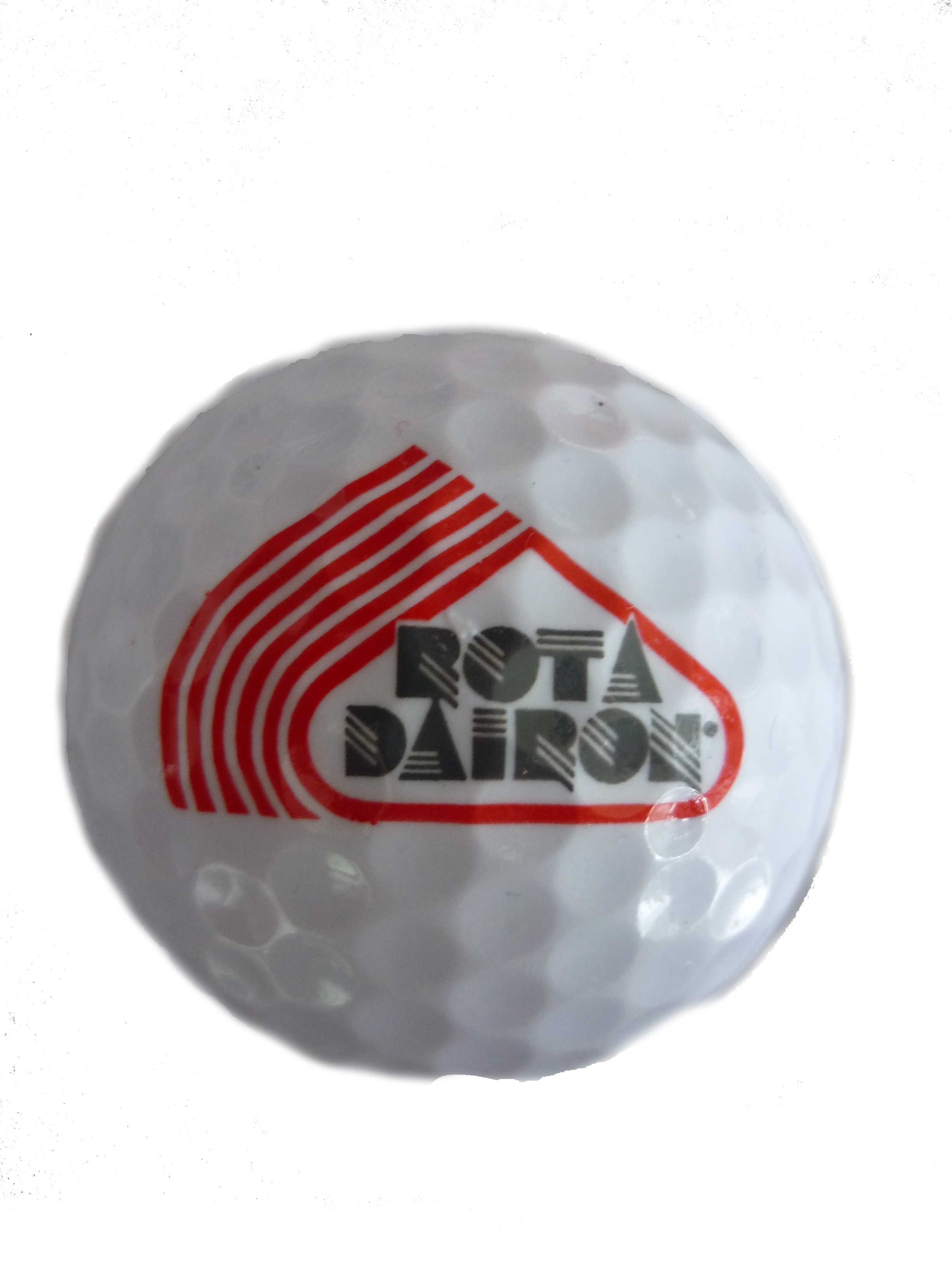 Ball with RotaDairon logo - front view