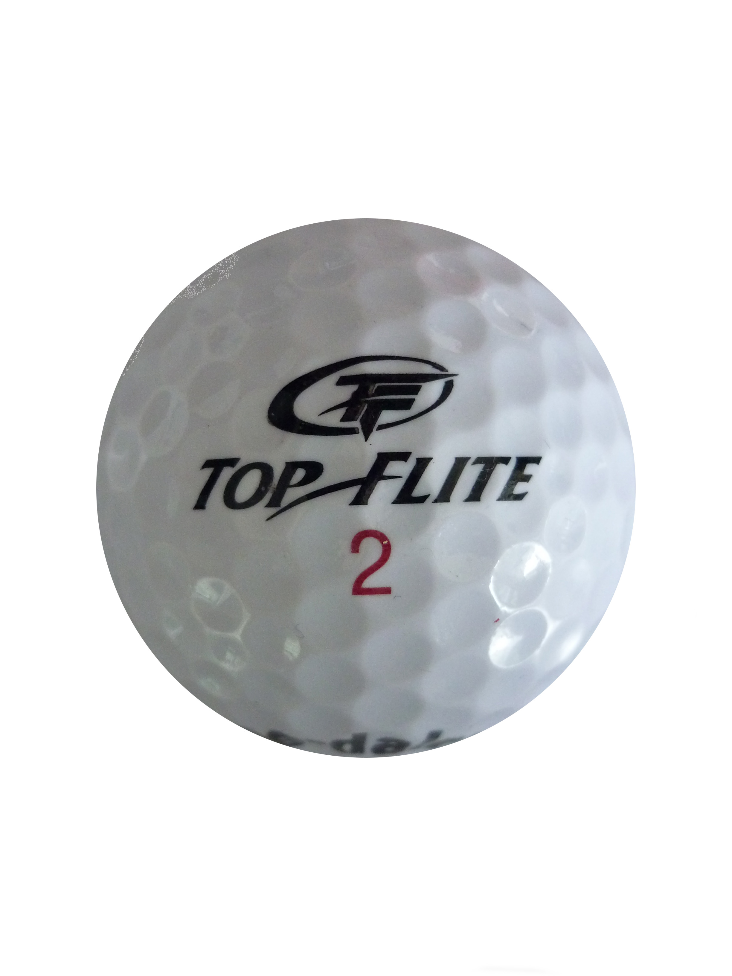 Ball with Top Life logo - rear view