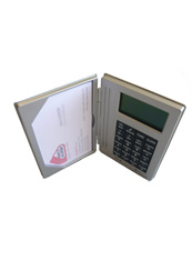 Calculator - Multifunction business card holder Rotadairon