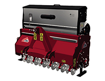 Dairon RGD140 machine - Slit seeder